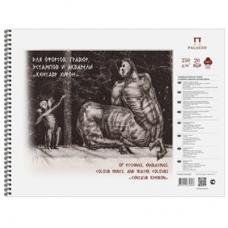 Альбом А4 для акварели спираль Кентавр 250г 20л Palazzo