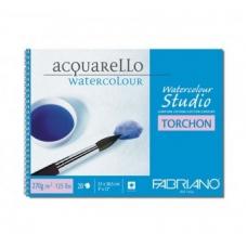 Альбом для акварели 13.5*21 125гр Studio Torchon