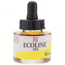 Акварель жидкая 30мл №205 Желтый лимонный Ecoline